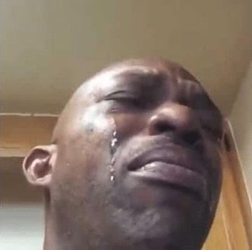 Black Man Crying Video Meme